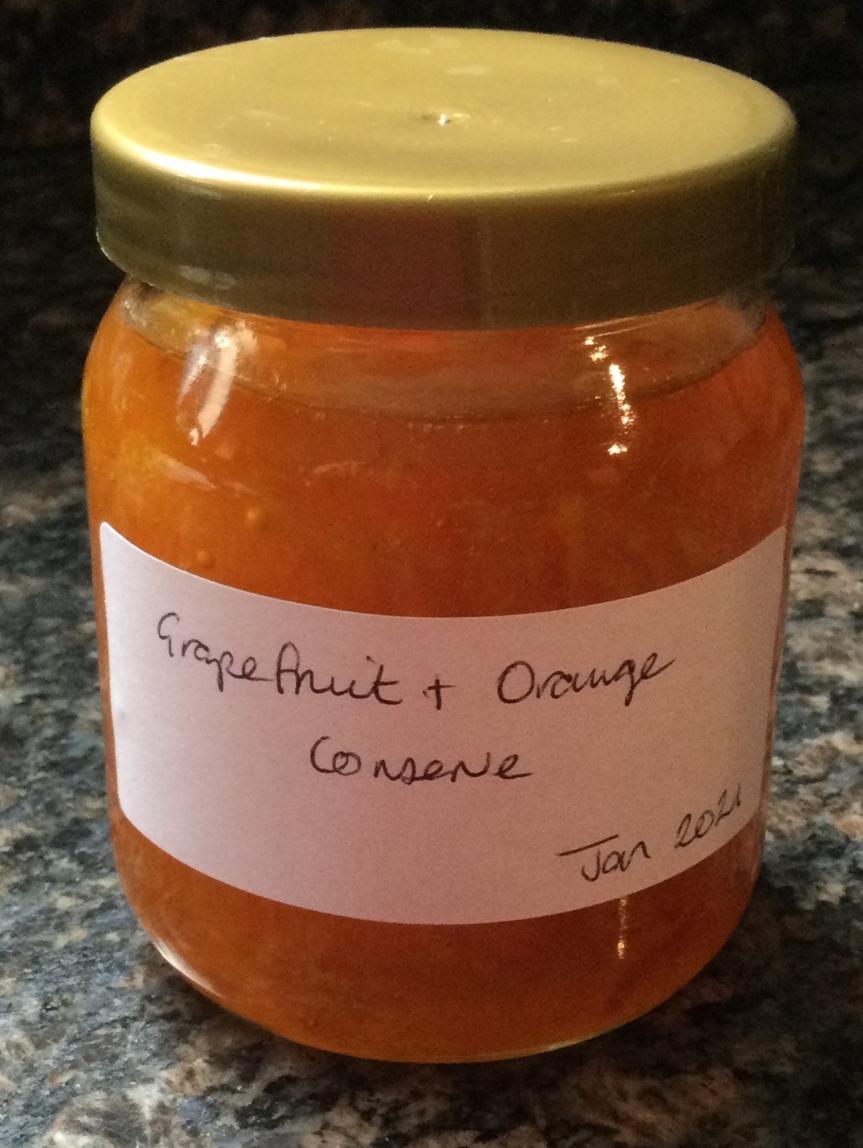 Grapefruit and OrangeMarmalade